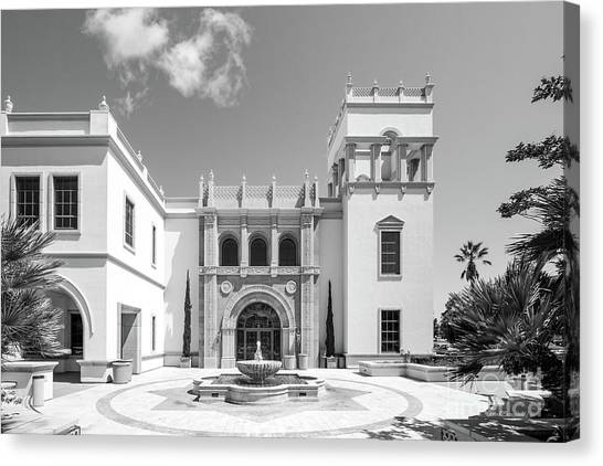 Mission San Diego Canvas Print - University Of San Diego Hill Hall by University Icons