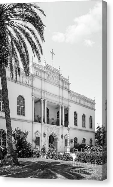 Mission San Diego Canvas Print - University Of San Diego Serra Hall by University Icons