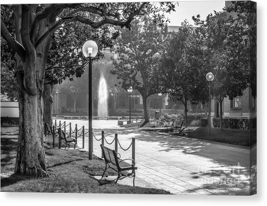 Pac 12 Canvas Print - University Of Southern California Landscape by University Icons