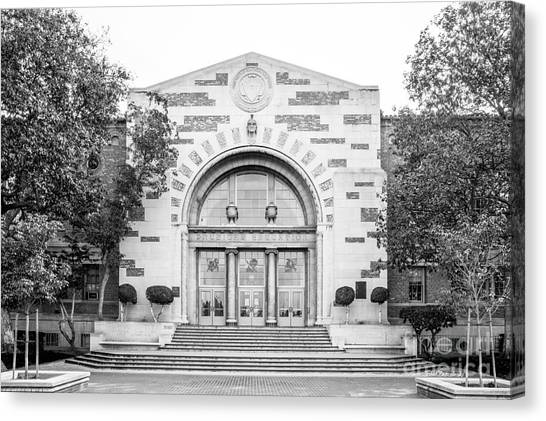 University Of Southern California Usc Canvas Print - University Of Southern California Physical Ed by University Icons