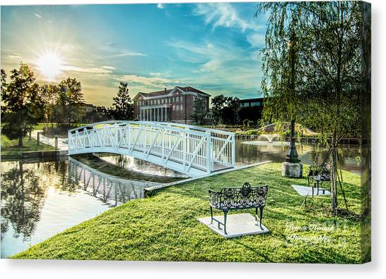 University Of Southern Mississippi Canvas Print