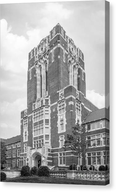 University Of Tennessee Ayres Hall Canvas Print