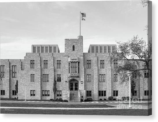 University Of Toledo Canvas Print - University Of Toledo  by University Icons
