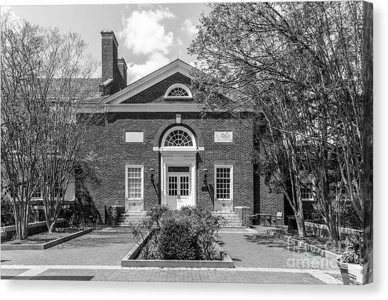 University Of Virginia Canvas Print - University Of Virginia Newcomb Hall by University Icons