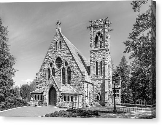 University Of Virginia Canvas Print - University Of Virginia University Chapel by University Icons