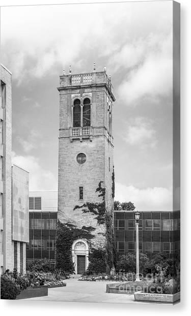 University Of Wisconsin - Madison Canvas Print - University Of Wisconsin Madison Carillon Tower by University Icons