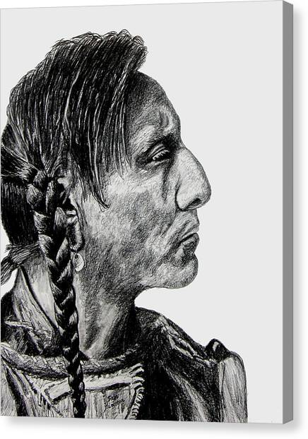 Canvas Print - Unknown Indian II by Stan Hamilton