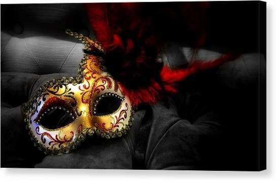 Unmasked Canvas Print