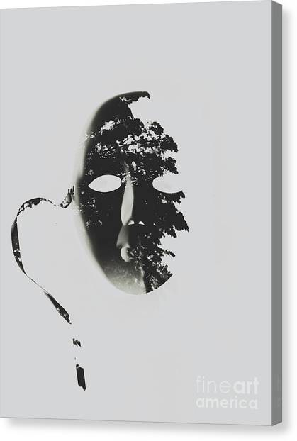 Mardi Gras Canvas Print - Unmasking In Silence by Jorgo Photography - Wall Art Gallery