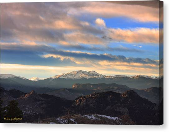 The Unmatched Beauty Of The Colorado Rockies Canvas Print