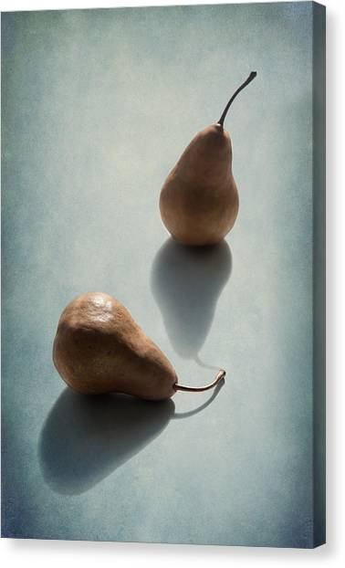 Pears Canvas Print - Unrequited by Maggie Terlecki