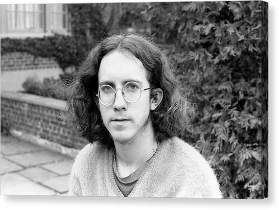 Unshaven Photographer, 1972 Canvas Print
