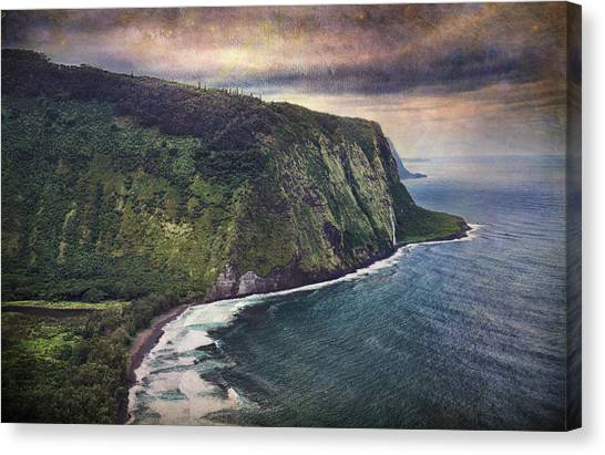 Black Sand Canvas Print - Until Then by Laurie Search