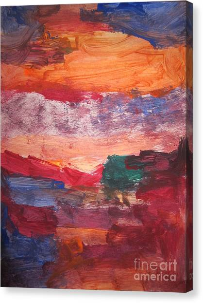 untitled 109 Original Painting Canvas Print