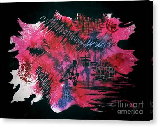 Untitled-110 Canvas Print