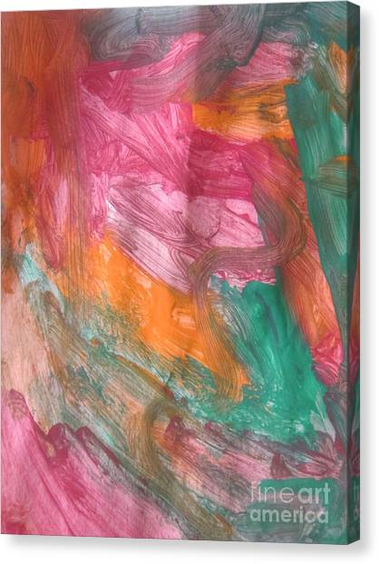 Untitled 122 Original Painting Canvas Print