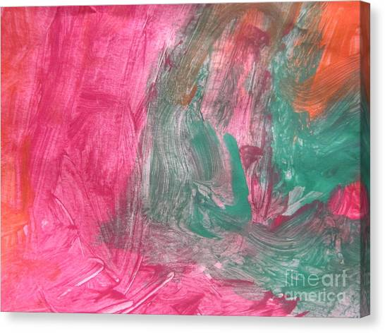 Untitled 123 Original Painting Canvas Print