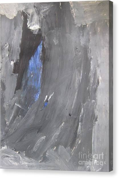 Untitled 125 Original Painting Canvas Print