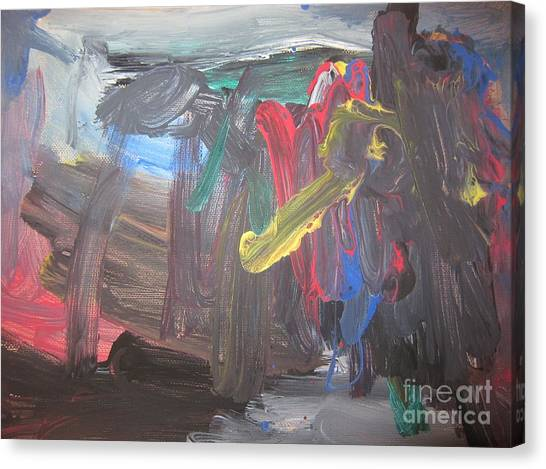 Untitled 128 Original Painting Canvas Print