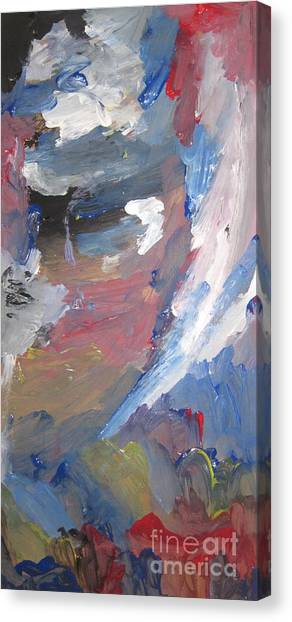 Untitled 141 Original Painting Canvas Print