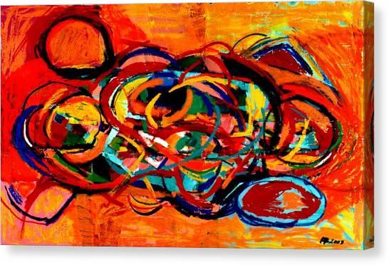 Untitled 2 Canvas Print by Paul Freidin