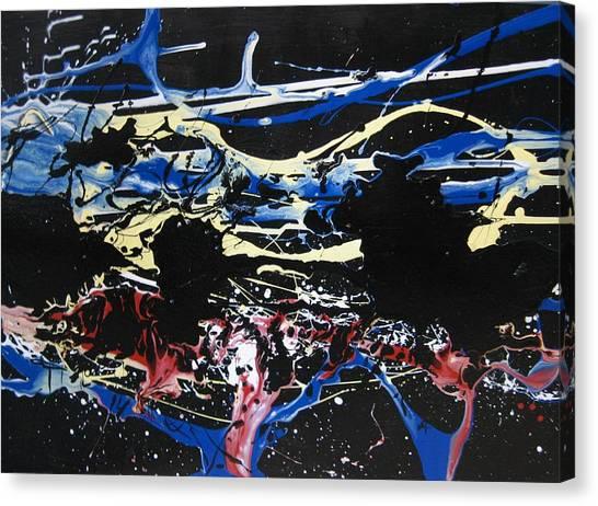 Untitled 3 Canvas Print by Paul Freidin