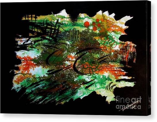 Untitled-54 Canvas Print