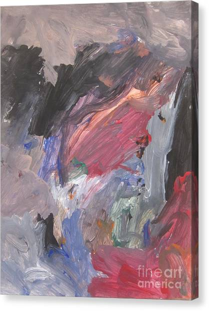 Untitled #6  Original Painting Canvas Print