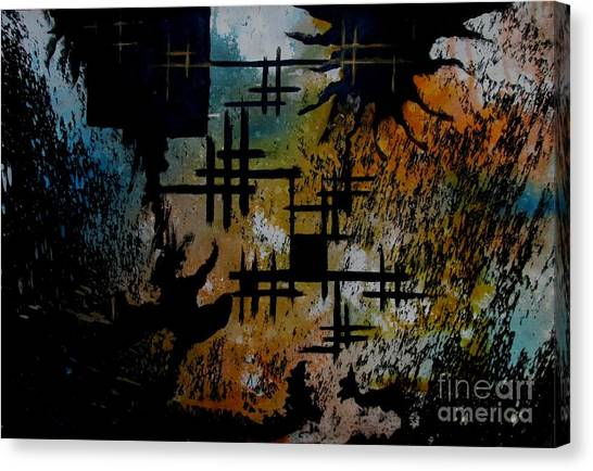 Untitled-61 Canvas Print