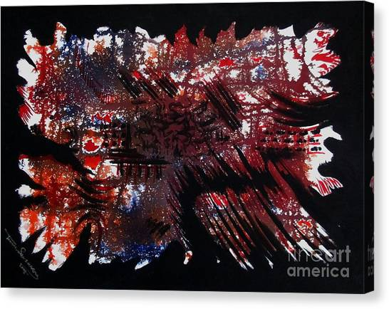 Untitled-66 Canvas Print