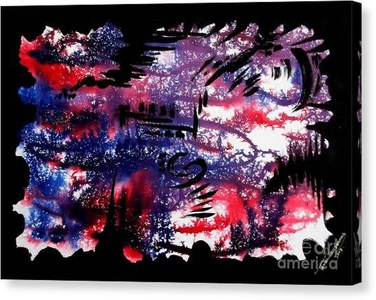 Untitled-80 Canvas Print