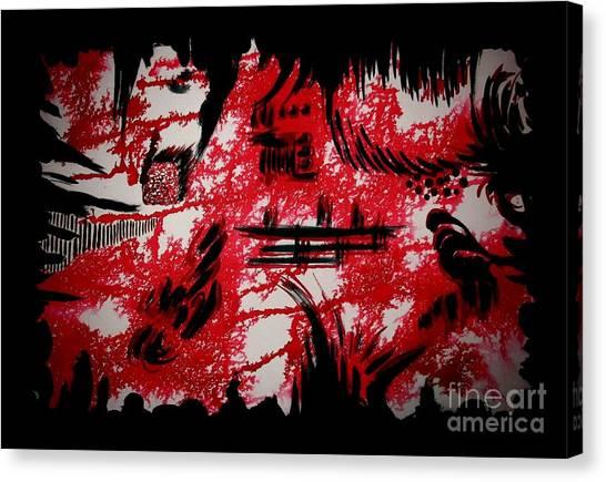 Untitled-99 Canvas Print