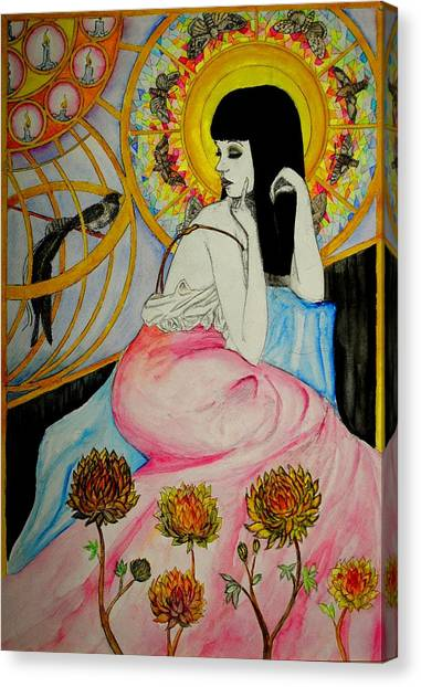 Untitled Muse 1 Canvas Print