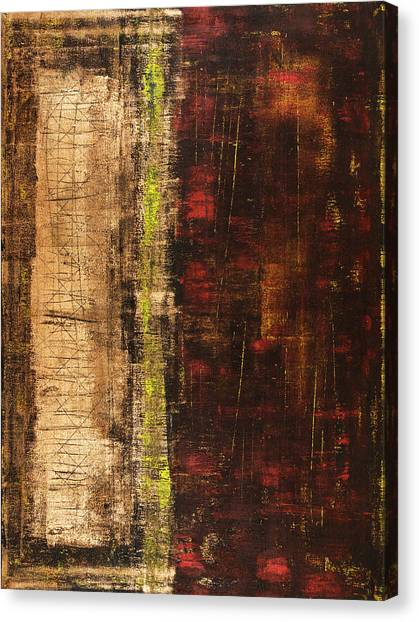 Abstract Expressionism Canvas Print - Untitled No. 13 by Julie Niemela
