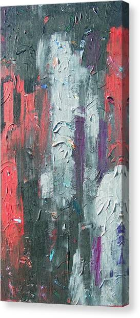 Untitled Number 12 Canvas Print by Kerry Smith
