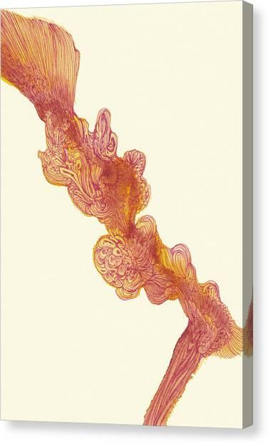 Dancer - #ss14dw048 Canvas Print by Satomi Sugimoto