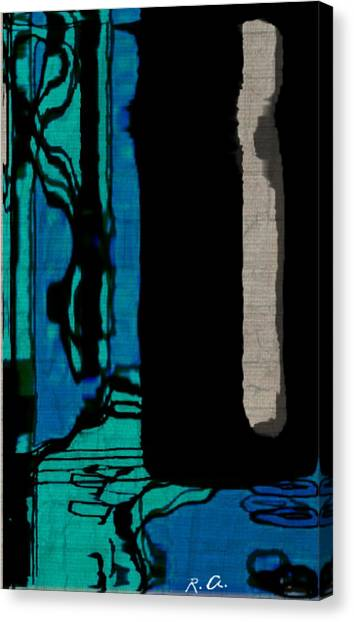 Untitled Stand Still Of Life Canvas Print by Rene Avalos