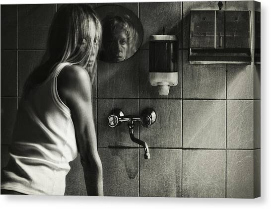 Mirror Canvas Print - Untitled by Stefano Miserini