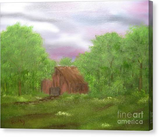 Untitled Canvas Print by Todd Androy