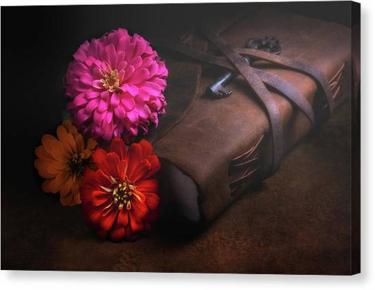 Daisy Canvas Print - Untold Secrets by Tom Mc Nemar