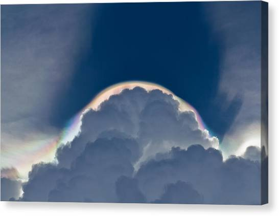 Unusual Cloud Formation Canvas Print