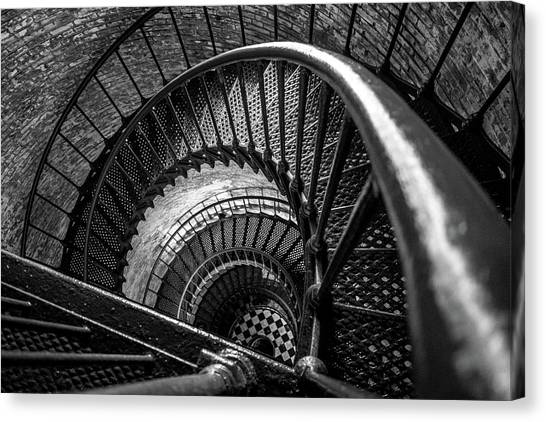 Unwind  - Currituck Lighthouse Canvas Print