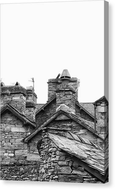 Installation Art Canvas Print - Up On The Roof by Martin Newman