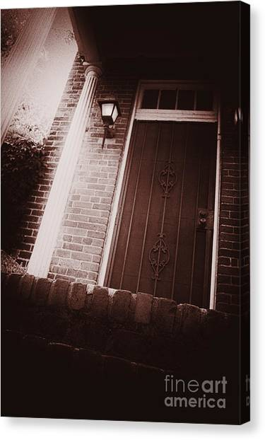 Pavers Canvas Print - Up The Steps by Margie Hurwich