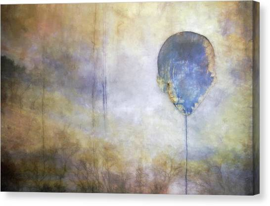 Bases Canvas Print - Up Up And Away... by Scott Norris
