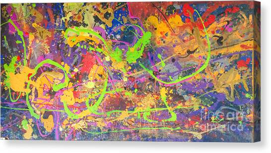 Upon Awakening Canvas Print