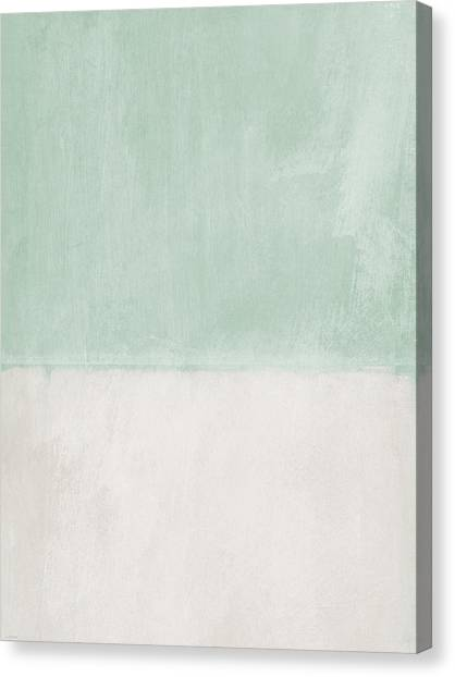 Soothing Canvas Print - Upon Our Sighs 2- Abstract Art by Linda Woods