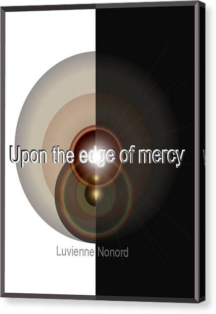 Upon The Edge Of Mercy04 Canvas Print