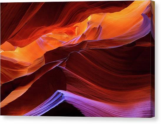 Upper Antelope Canyon Canvas Print