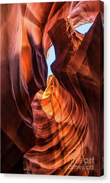 Upper Antelope Canyon Canvas Print
